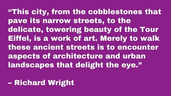 Wright Love letter Paris
