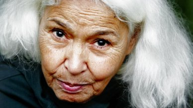 Nawal El Saadawi, not my photo